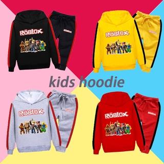 2021 Roblox Kids Hoodie New Fashion Children's Hoodie + Pants Hoodie Sweatshirt Kids Two-piece Suit