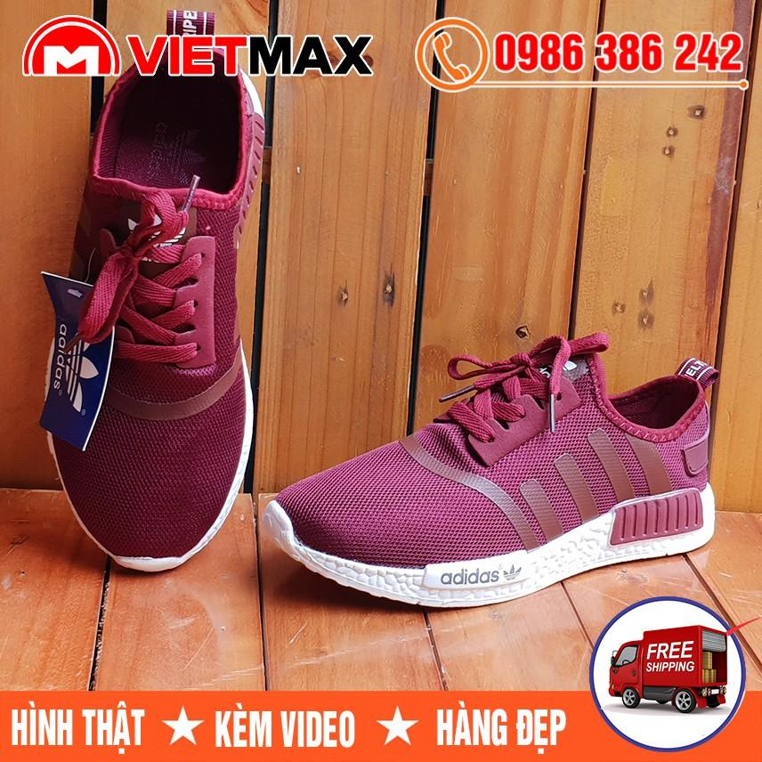 ⚡[FREE SHIP] Giày NMD Đỏ Mận Hàng Việt Nam
