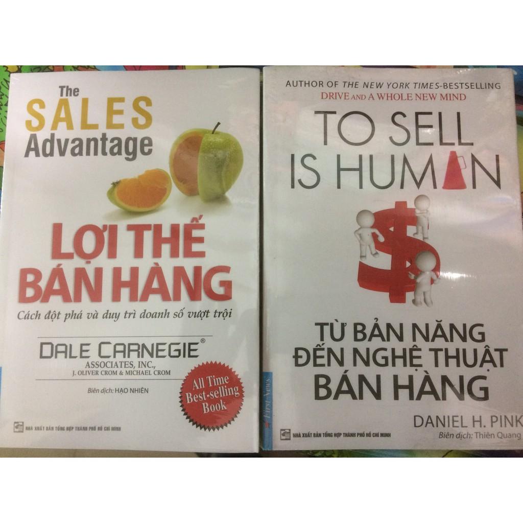 Combo sách Lợi thế bán hàng và Từ bản năng đến nghệ thuật bán hàng