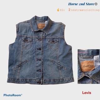 Jacket denim levis-áo khoác jean