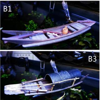Mô hình Thuyền gỗ hồi xưa