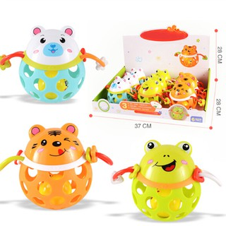 1Pc Funny Baby Kids Rattle Toy Baby Hand Grab Rattle Early Educational Toy