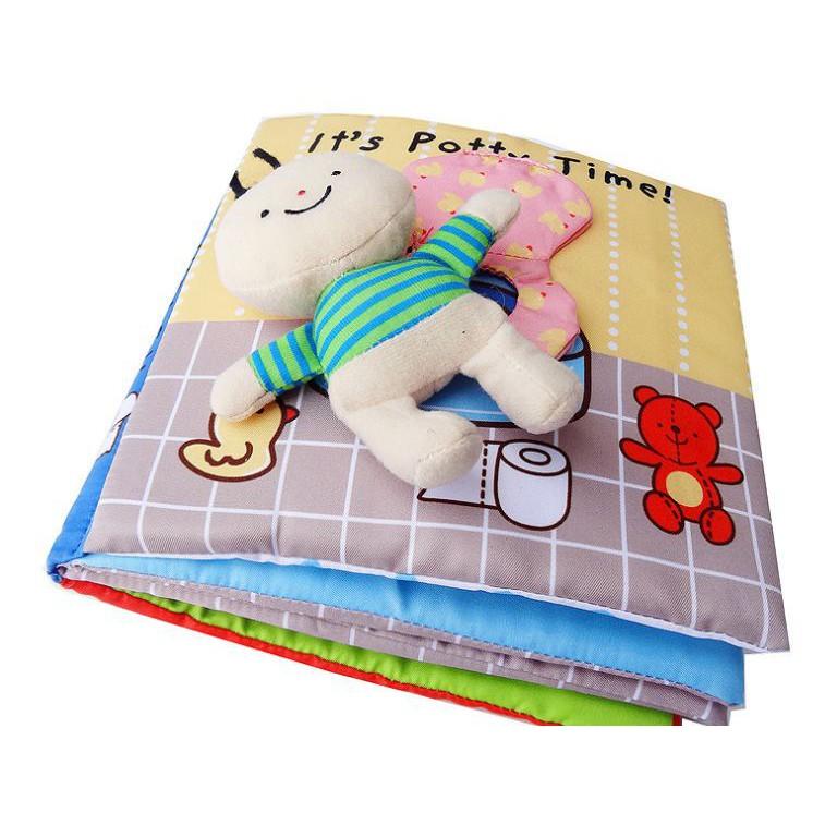 Sách vải Vệ sinh- It's Potty Time