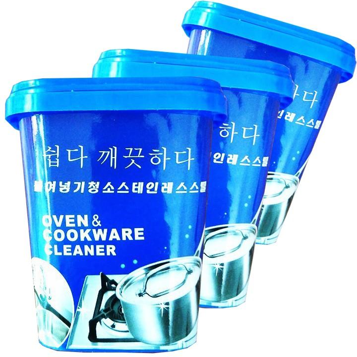 FREESHIP Combo 3 hộp kem tẩy rửa nhà bếp Hàn Quốc siêu sạch