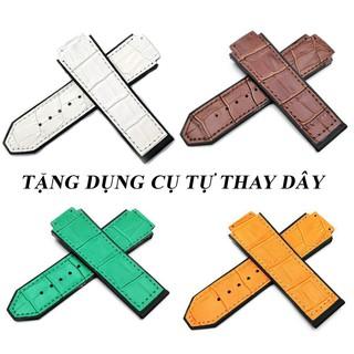 [TẶNG DỤNG CỤ THAY DÂY] Dây đồng hồ cao cấp Hulot 42mm - dây da - dây cao su - dây da lộn thumbnail