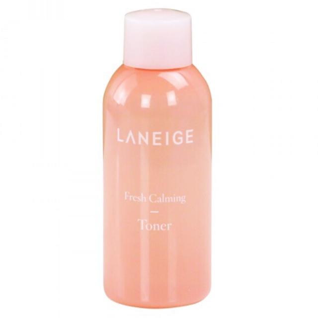 Nước hoa hồng cân bằng, dịu mát da Laneige Fresh Calming Toner 50ml
