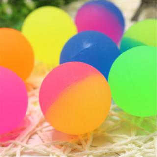 ℜ-ℜ Icy Super Balls 32mm Vibrant Two Tone Color Bouncy Balls 24 pack Kids Gift Party Bag Fillers