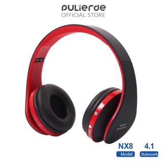 Tai Nghe Pulierde NX8 Không Dây Kết Nối Bluetooth Tích Hợp Mic Cho Chơi Game Trên Điện Thoại/ PC