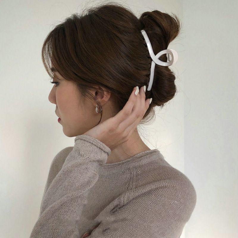 Kẹp tóc càng cua 11cm cỡ lớn phong cách thanh lịch cho phái nữ