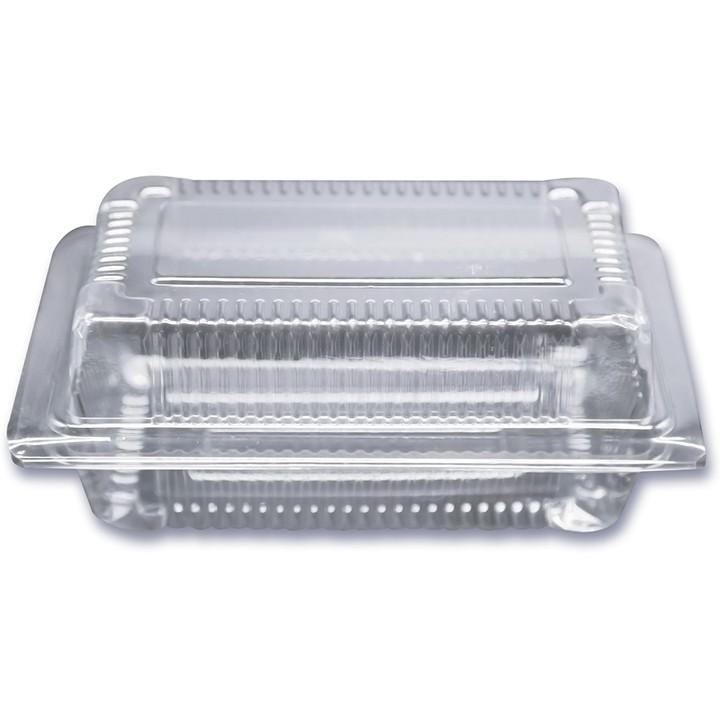 Lố 100 hộp nhựa đựng bánh - Mã H04, hộp nhựa H04