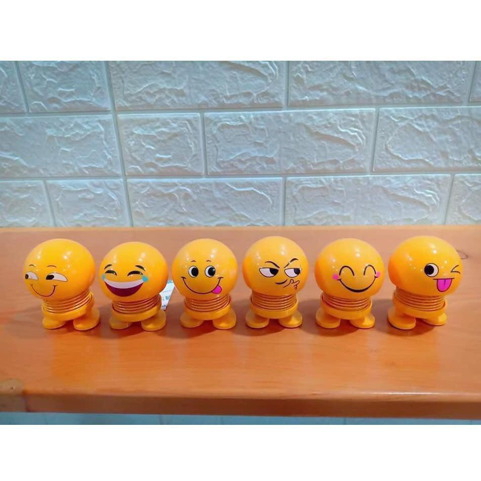 FREESHIP_Bộ 13 Emoji lò xo thú nhún hình biểu tượng cảm xúc cỡ to