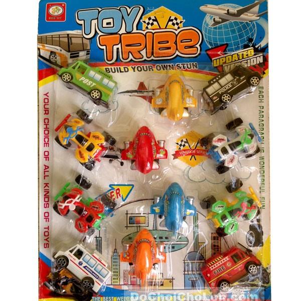 Vỉ đồ chơi 12 xe máy bay Toy Tribe 181H chạy trớn - 2806937 , 73808339 , 322_73808339 , 53000 , Vi-do-choi-12-xe-may-bay-Toy-Tribe-181H-chay-tron-322_73808339 , shopee.vn , Vỉ đồ chơi 12 xe máy bay Toy Tribe 181H chạy trớn