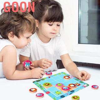 Goon Children Cartoon Animal Logic Game Board Learning Educational Montessori Puzzle Toy