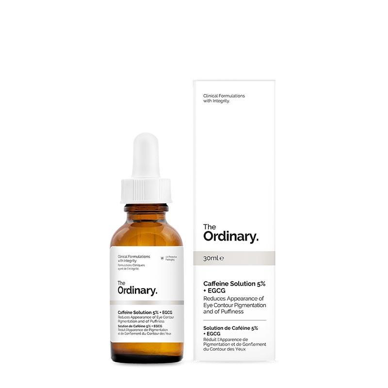 Tinh chất đặc trị thâm và bọng mắt The ordinary caffeine solution 5 + EGCG