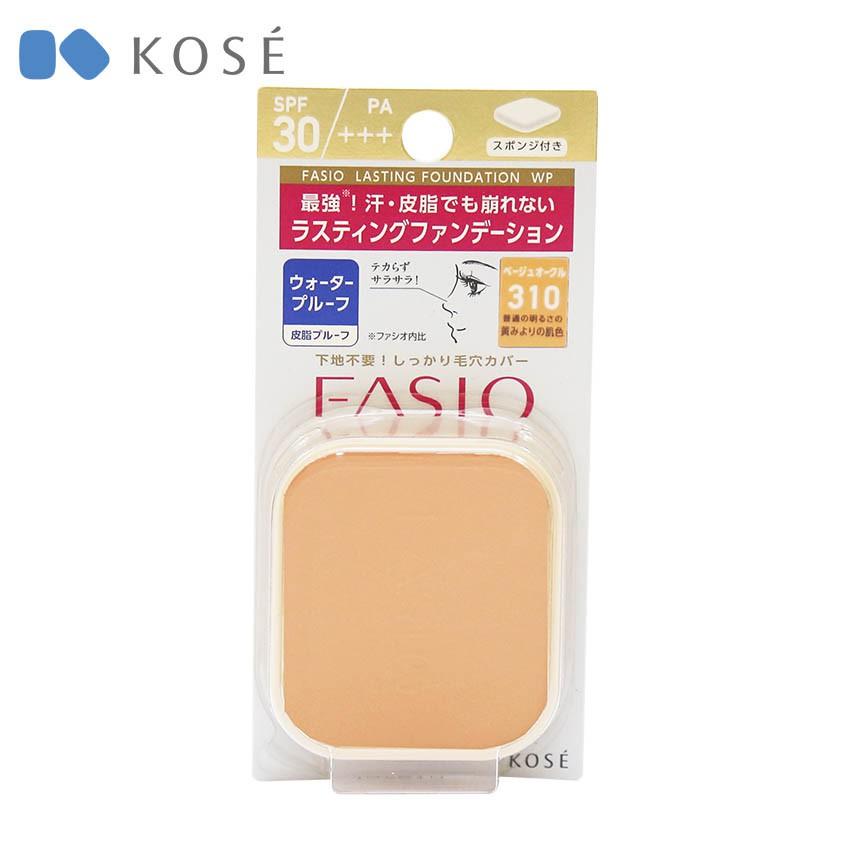 4971710462470 - Phấn Nền Fasio Lasting Foundation Wp SPF30/PA+++ 310 10g (Cho Da Dầu Và Nhờn)