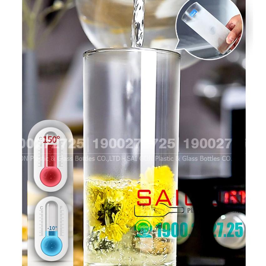 Ly Thủy Tinh Ocean Chia Vạch Top Drink 625 ml | OCEB.00322 , Nhập khẩu Thái Lan