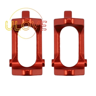 2PCS Front Hub Carrier(L/R) for RC el Car 1:18 A949 A959 Red