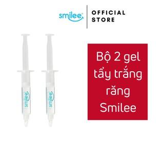 Bộ 2 ống GEL bô sung cho máy làm trắng răng Smilee an toàn tại nhà