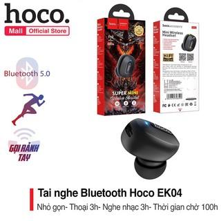 ✔️Tai Nghe Blutooth Hoco EK04 - hỗ trợ chơi game - đàm thoại - pin cực trâu - Chính hãng bảo hành 12 tháng