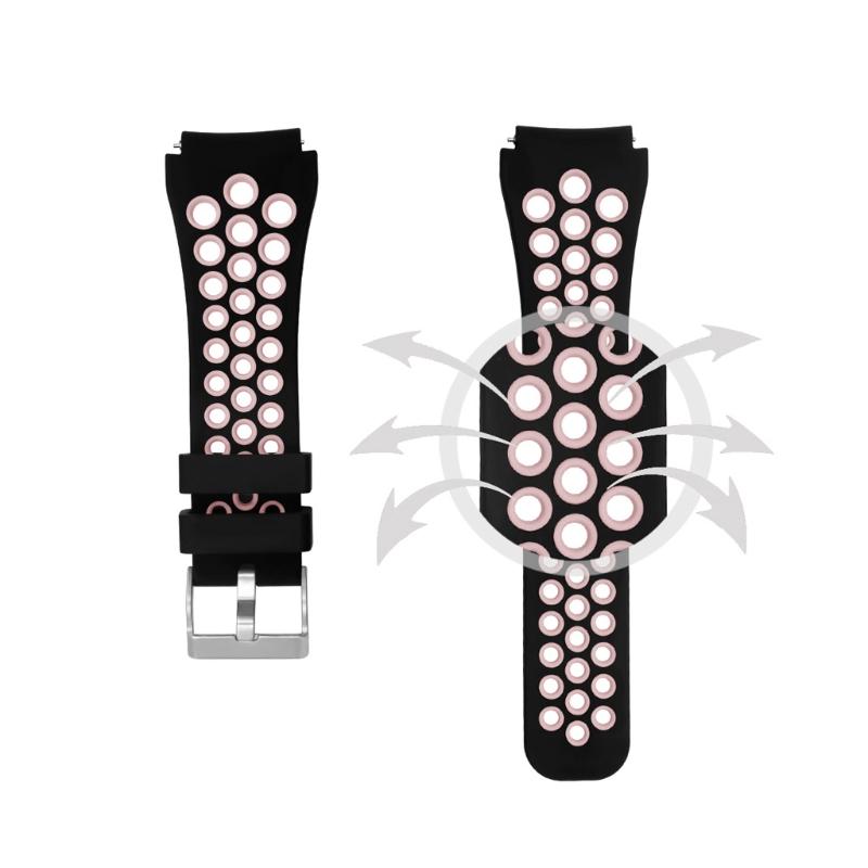 Silicone Watchband Strap Samsung Gear Smart Watch