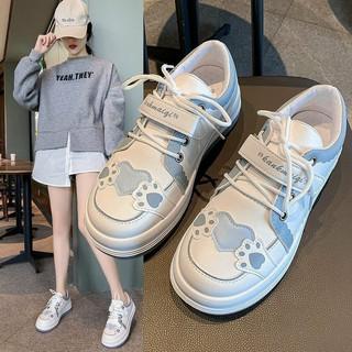 Giày nữ dễ thương phiên bản Hàn Quốc mũi tròn phù hợp cho học sinh, sinh viên thumbnail