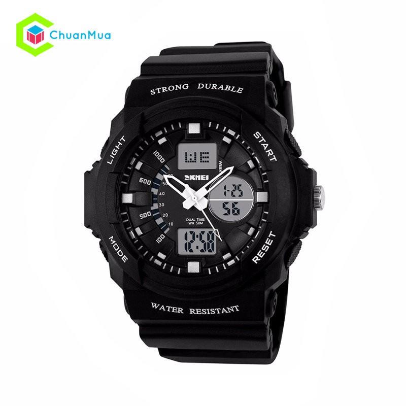 Đồng hồ Đôi Skmei 0955-1008 Điện Tử SK0955