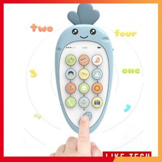 Điện thoại đồ chơi trẻ em giúp phát triển khả năng âm nhạc cho bé siêu hot 2020