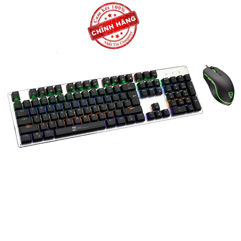 Bộ bàn phím cơ và chuột LED chơi Game R8 G100 - MOTOSPEED V40 (Đen) - 2523704 , 410047606 , 322_410047606 , 1133000 , Bo-ban-phim-co-va-chuot-LED-choi-Game-R8-G100-MOTOSPEED-V40-Den-322_410047606 , shopee.vn , Bộ bàn phím cơ và chuột LED chơi Game R8 G100 - MOTOSPEED V40 (Đen)