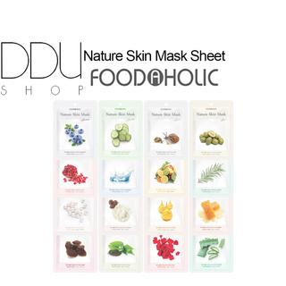(Hàng Mới Về) FoodAHolic Mặt Nạ Dưỡng Da Thành Phần Thực Vật Tự Nhiên thumbnail
