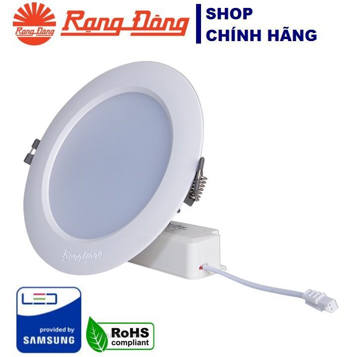 Đèn Led Âm Trần Downlight Rạng Đông D AT04L 110/12W 220V-3000K,6500K E, Vỏ Nhôm Đúc