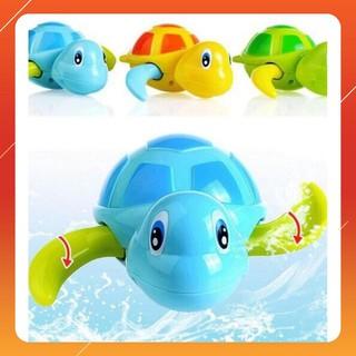 [ẢNH THẬT] Đồ chơi con vật lên dây cót biết bơi cho bé
