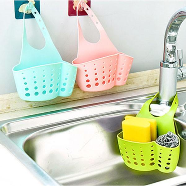 Giỏ treo bồn rửa bát tiện dụng | Giỏ đựng đồ nhà tắm có móc cài - 9987707 , 581161053 , 322_581161053 , 25000 , Gio-treo-bon-rua-bat-tien-dung-Gio-dung-do-nha-tam-co-moc-cai-322_581161053 , shopee.vn , Giỏ treo bồn rửa bát tiện dụng | Giỏ đựng đồ nhà tắm có móc cài