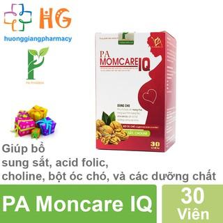 PA Moncare IQ - Giúp bổ sung sắt, acid folic, choline, bột óc chó, và các dưỡng chất cho cơ thể (Lọ 30 Viên) thumbnail