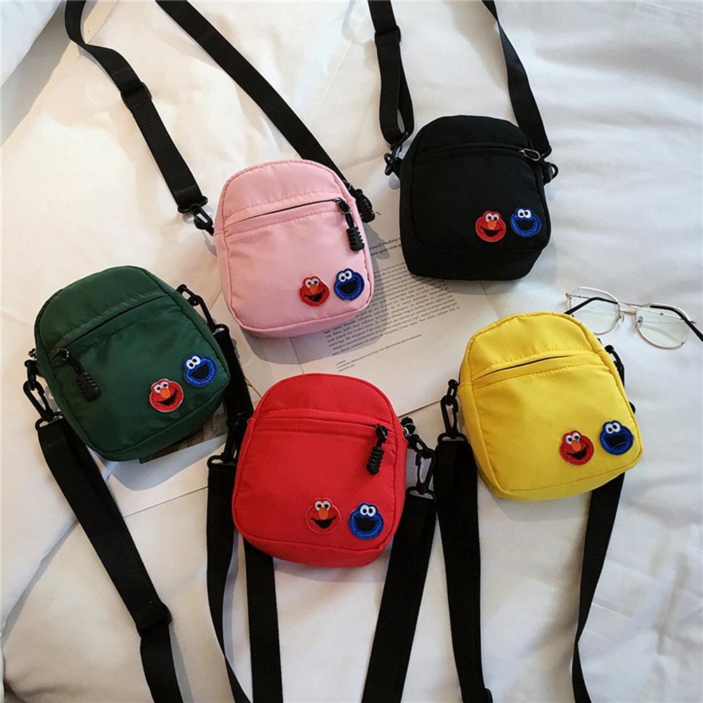 Túi đeo chéo xách tay in họa tiết hoạt hình dễ thương