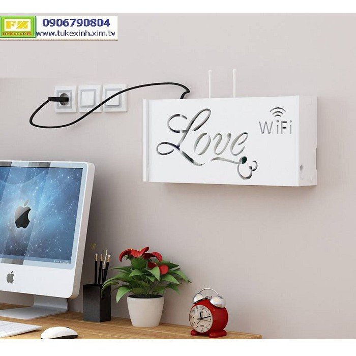 Kệ Wifi chữ LOVE