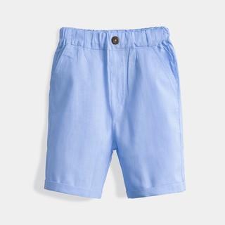 [Mã KIDMALL15 hoàn 15% xu đơn 150K] Quần Đùi Bé Trai Vải Đũi Thời Trang Bello Land - Kid s Fashion
