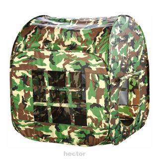Large Gift Foldable Childrens Kids Camouflage Toy Fabric Outdoor Gaming Play Tent