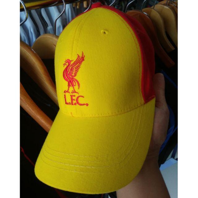 Mũ lưỡi trai thêu logo Liverpool