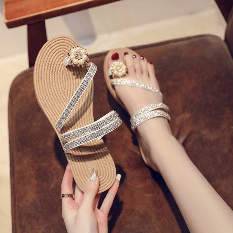 D153- dép xỏ ngón đi biển, sandals xỏ ngón KÈM ẢNH THẬT