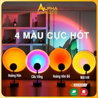 Đèn Hoàng Hôn Chuyển Được 16 Màu Đèn Quay Tik Tok Hot Nhất Hiện Nay Đèn LED Sunset Đèn Hoàng Hôn thumbnail