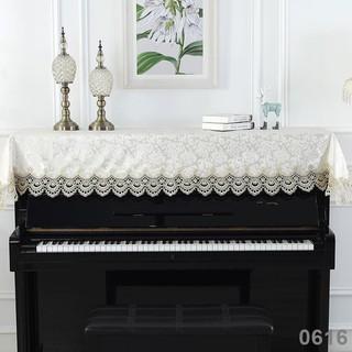 Khăn Trùm Đàn Piano Chống Bụi Thêu Họa Tiết Phong Cách Châu Âu