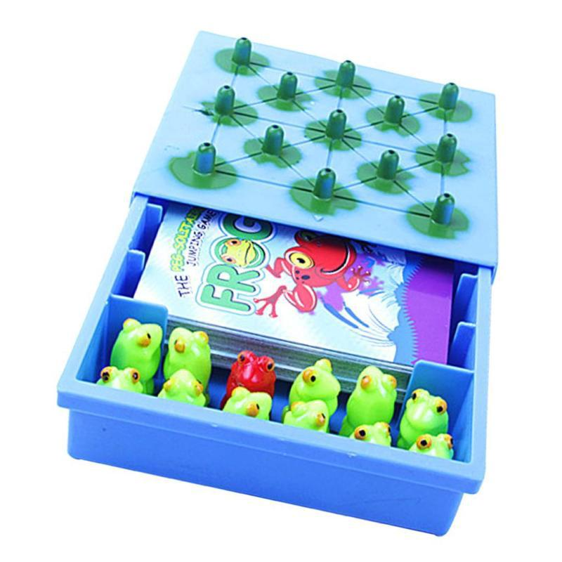 Solitaire Jumping Frog Board Game Kids Intellectual Development Chess Toy