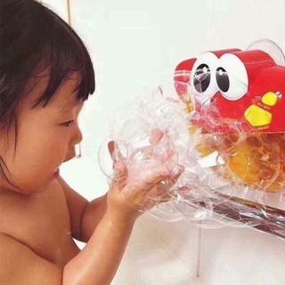 Máy tạo bọt bong bóng phòng tắm cho bé hình con cua