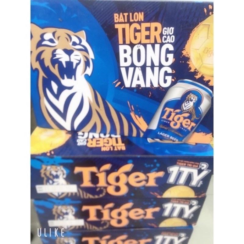 Bia Tiger xanh