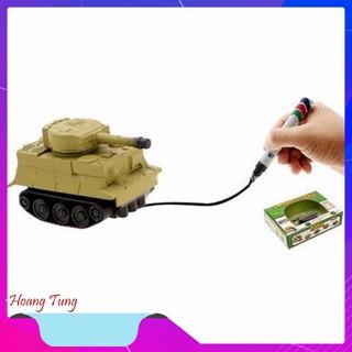 Bộ đồ chơi xe tăng cảm ứng theo nét vẽ độc đáo – Tặng kèm 4 pin chất lượng nhất [SP YÊU THÍCH]
