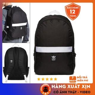 Balo thể thao [ FULL TEM XỊN ] Balo A.D Originals Essential Backpack Black – Thiết kế thông minh CHỐNG NƯỚC TỐT