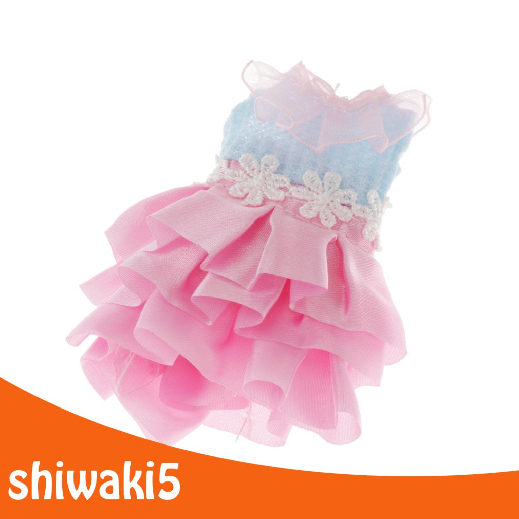 Bestdeal 7 Set Outfits Fashion Doll Dress Clothes For 6.3inch Dolls Gifts