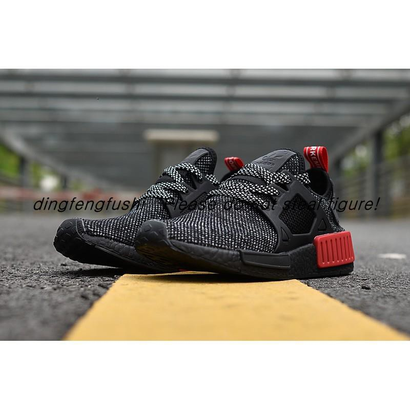 online retailer 416e1 2d2a2 Shoes Sepatu Original Premium High Coral Black Bred XR1 NMD ...