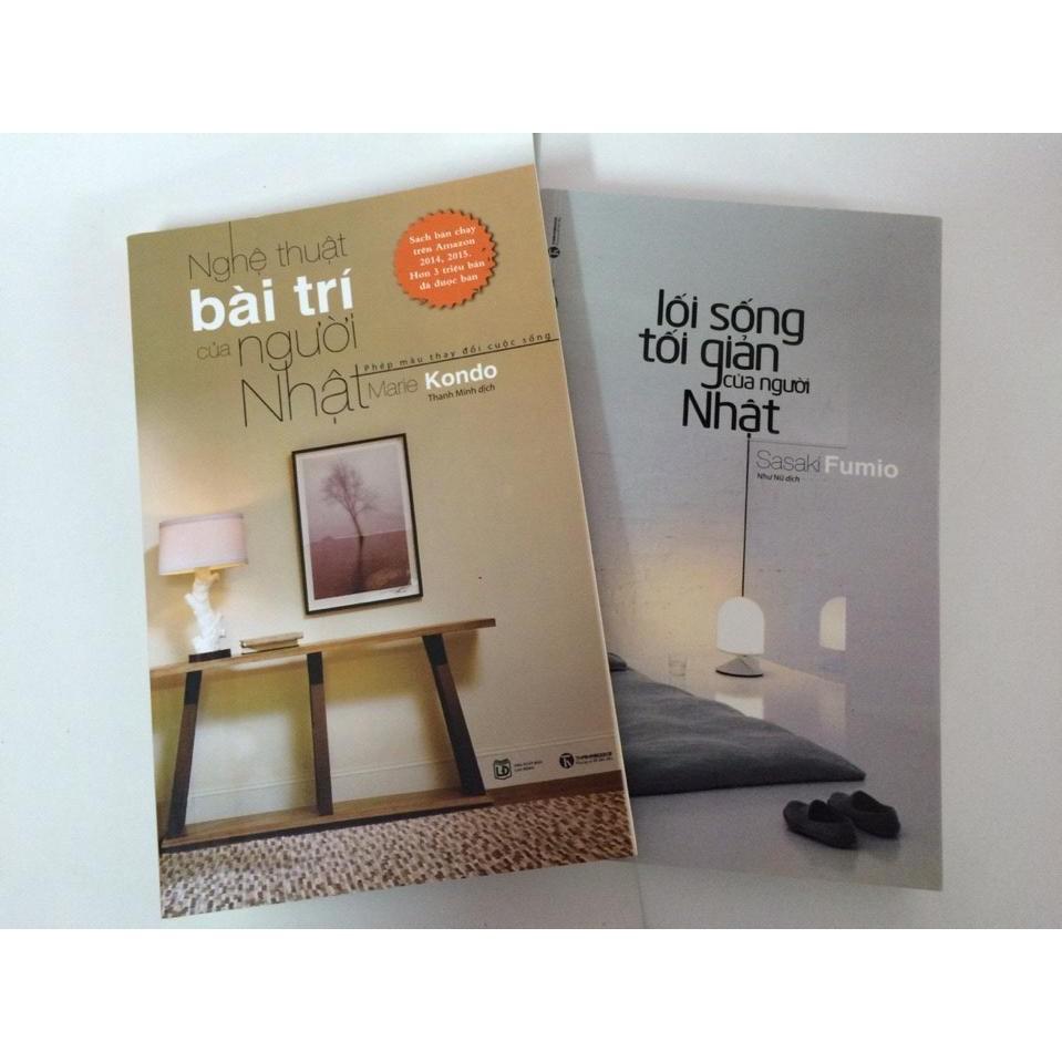 sách- Combo 2 cuốn nghệ thuật bài trí, lối sống tối giản của người nhật - 3491116 , 1181666718 , 322_1181666718 , 85000 , sach-Combo-2-cuon-nghe-thuat-bai-tri-loi-song-toi-gian-cua-nguoi-nhat-322_1181666718 , shopee.vn , sách- Combo 2 cuốn nghệ thuật bài trí, lối sống tối giản của người nhật