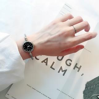 Đồng hồ thời trang nữ Candycat mặt cườm dây thép BT07